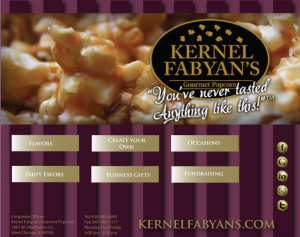 Kernal Fabyan's Facebook welcome page