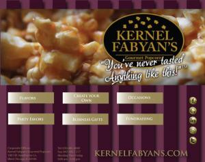 Kernal Fabyan's Facebook welcome page