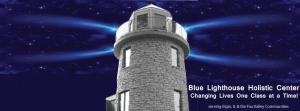 Blue Lighthouse timeline cover