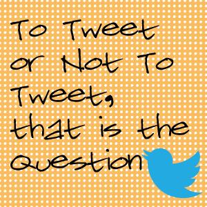 To-Tweet-or-Not