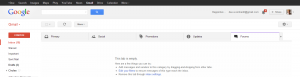 Gmail tabs pic