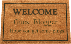 Welcome Guest Blogger