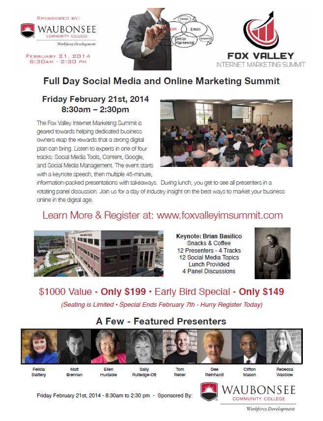 Fox Valley Internet Marketing Flyer
