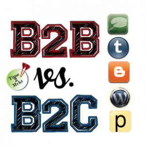B2B vs B2C blogs - Time2Mrkt