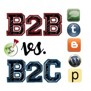 B2B vs B2C blogs - Time2Mrkt