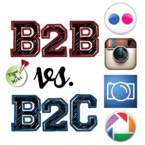 B2B vs B2C - images