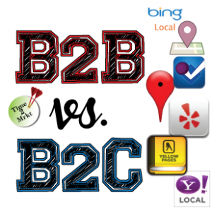 B2BvsB2C location sites