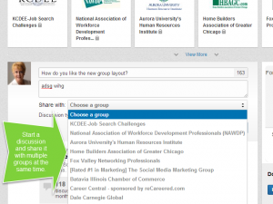 LinkedIn Group Discussion