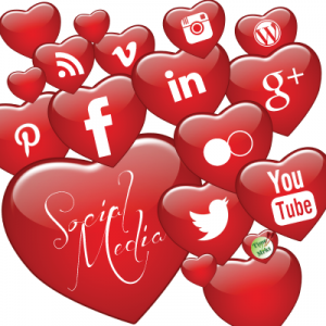 put your heart into social media