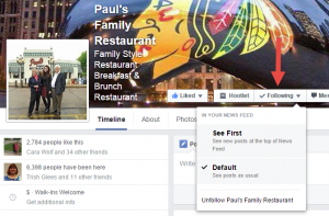 Facebook See First Option 2