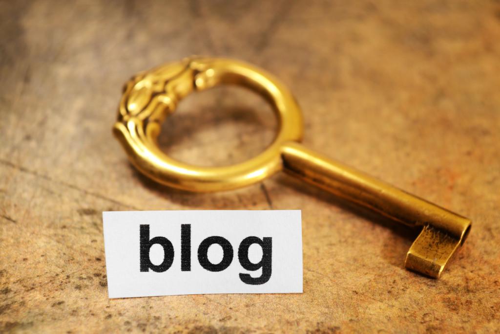 key to a good blog