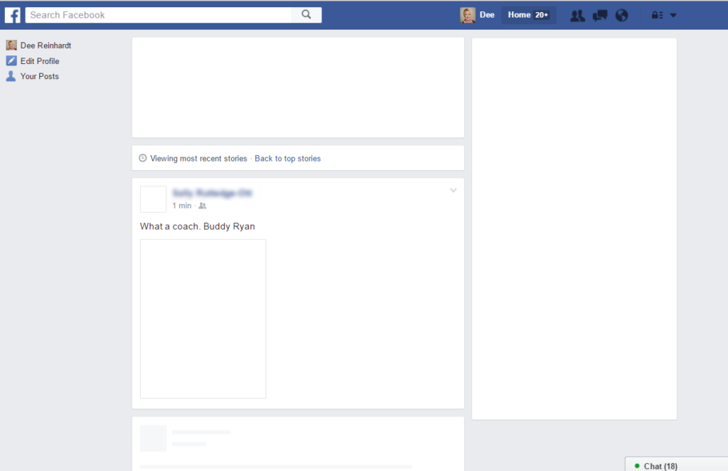 social media - Facebook is slow